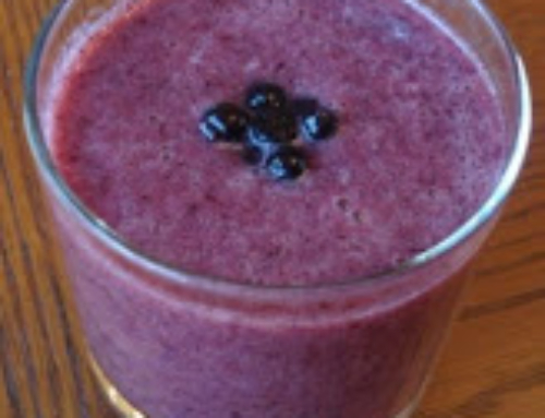 Blue and Red Smoothie