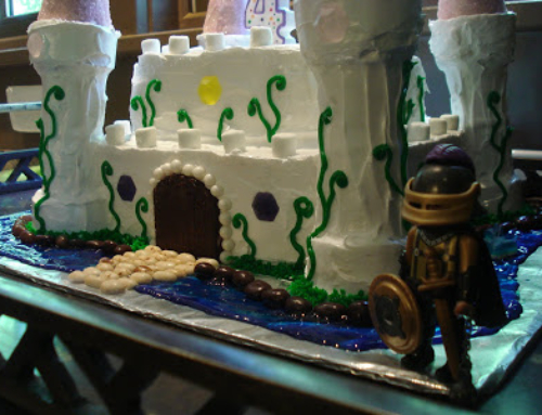 Princess Castle Cake … anything for the birthday girl