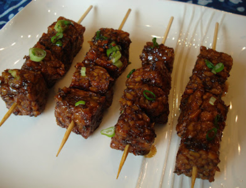 Asian Style Tempeh Kabobs