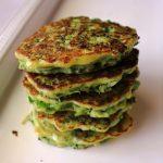 Broccoli and Zucchini Fritters