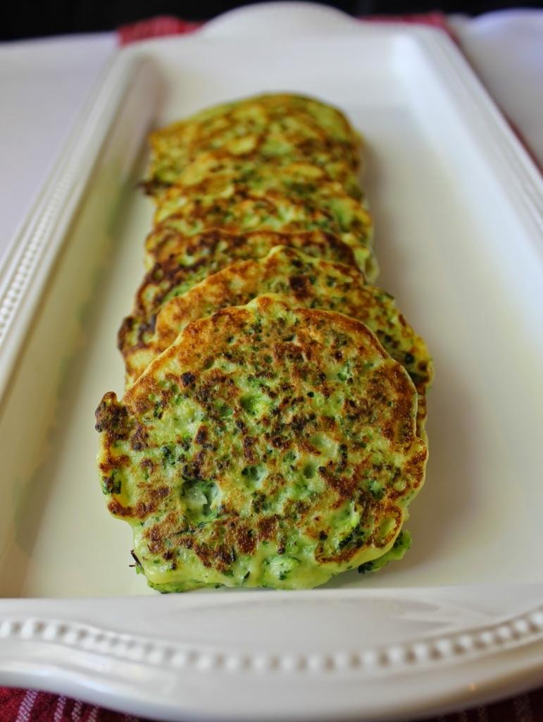 Gluten free Broccoli Fritters