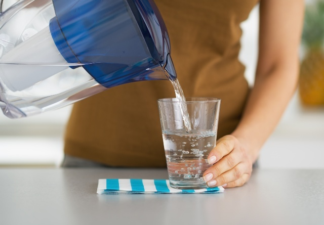 hydrating foods - filtered water
