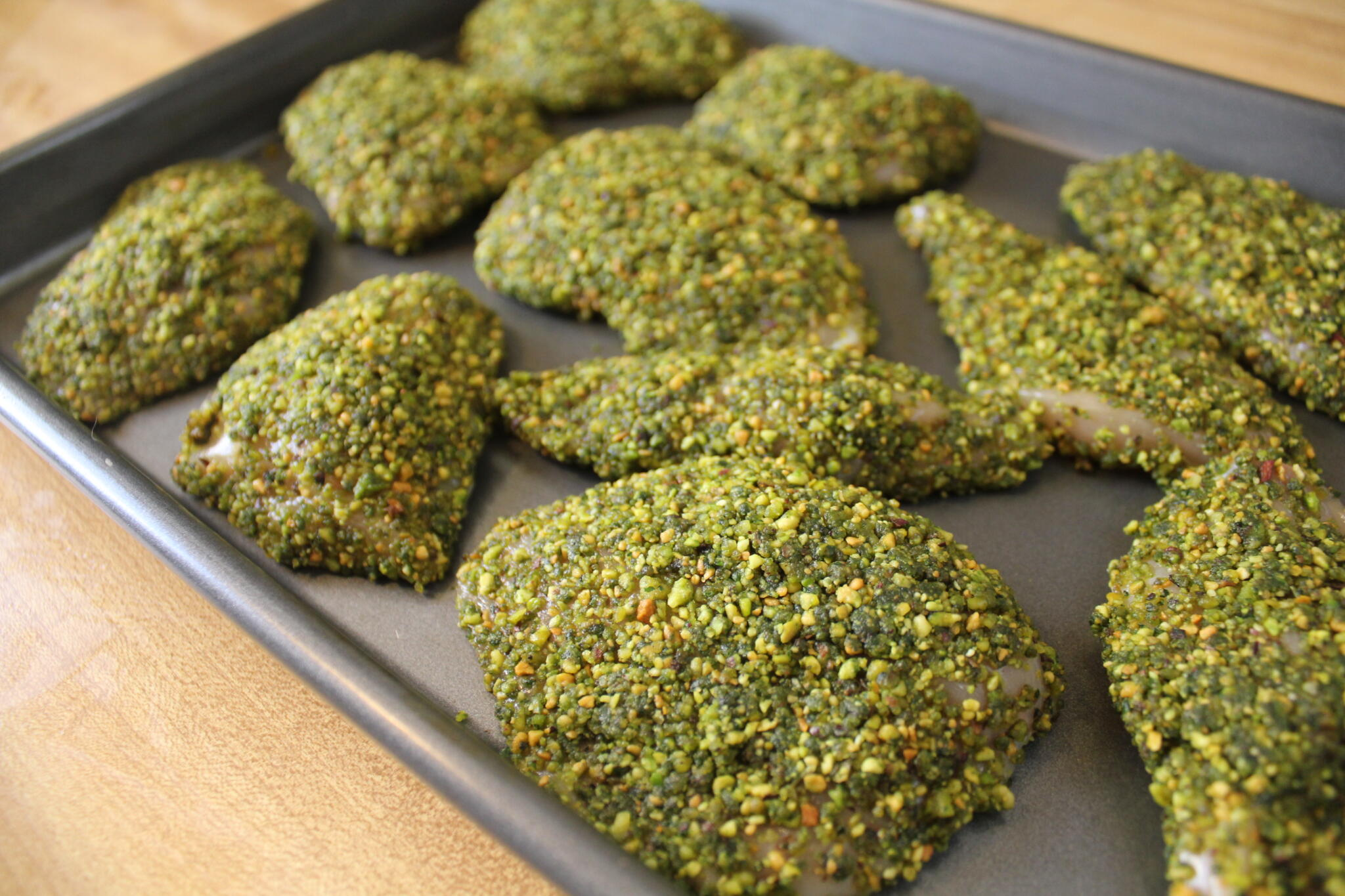 Gluten-Free Pistachio Crusted Chicken